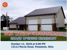 Grand Opening Celebration of our new Fire Station 405!